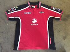 POLO SHIRT HOLDEN RACING TEAM size L official licensed product 3 button neck