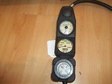 Sherwood Depth and Pressure Gauge with Us Divers Compass for Scuba Diving