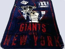 New York Giants blanket bedding 82x56 NYG FREE SHIPPING NFL football NFC