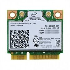 Intel 7260HMW WiFi Wireless 802.11AC 7260 Dual Band Bluetooth BT mini pcie card