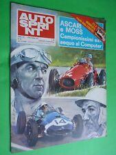 AUTOSPRINT 1973/43 AScari MOss Jacky Stewart Fittipaldi Rally Spray Maserati JS2