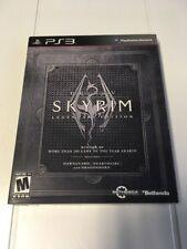 The Elder Scrolls V: Skyrim -- Legendary Edition (PS3, 2013) BL, W/Sleeve, New!