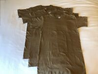 3Pcs ORIGINAL NAVY NWU Type III Seal Woodland Brown T-Shirts Military Uniform