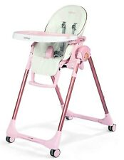 Peg Perego Prima Pappa Zero 3 Ultra-Compact Kids Highchair Recliner Mon Amour