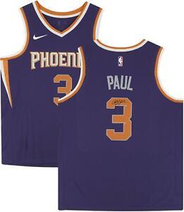 Chris Paul Phoenix Suns Autographed Purple Nike Swingman Jersey
