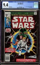 Star Wars 1 CGC 9.4 OW/W (Marvel, 1977) 1st appearance Star Wars characters
