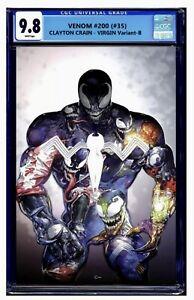 Venom 35/200 Clayton Crain Virgin CGC 9.8!!!! SOLD OUT! Pre-order Augusta/Sep🔥
