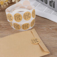 Kraft Paper Thank You for Supporting My Small Business Stickers label StiJ Hu