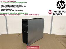 HP Z620 Workstation Intel Xeon E5-2680 2.70GHz 64GB RAM 256GB SSD Quadro 4000