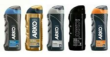New Arko after shave cologne 5 different type Gold power,cool,platinum...250ml