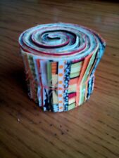 """23 Pre-cut Cotton Quilting Fabric Strips jelly roll 2"""" x 18""""  HALLOWEEN PRINT"""