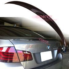 Carbon Fiber BMW 11~16 F10 5-series Sedan performance style trunk spoiler @US