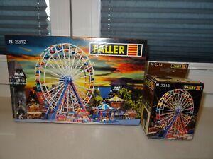 NEU ! Spur N Faller 2312   2313 Riesenrad + Beleuchtung Jahrmarkt