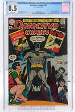 Detective Comics # 387 CGC 8.5 - Joker & Penguin cover - 30th Anniversary issue.