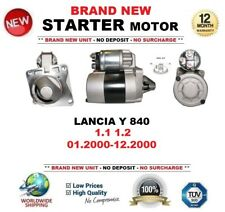 FOR LANCIA Y 840 1.1 1.2 01.2000-12.2000 BRAND NEW STARTER MOTOR 0.9kW 8 Teeth