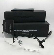 New PORSCHE DESIGN Eyeglasses P'8251 F 56-15 145 Matte Black Semi Rimless Frames