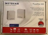 NetGear Powerline 500 CPL 500 Model XAVB5201 500 Mbps Network Adapter NEW