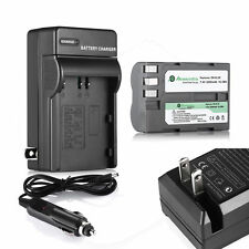 EN-EL3e ENEL3e Battery For Nikon D50 D70S D80 D90 D100 D200 D300S D700 + Charger