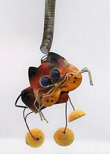 New listing Vtg Used Kitty Cat Wind Chimes Whimsical Folk Art Funny