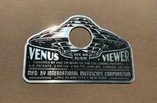 CUSTOM VINTAGE STYLE VENUS VIEWER PEEP SHOW DOOR PEEP HOLE COVER PLATE UFO