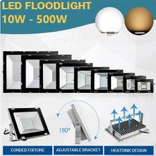 LED Fluter mit Bewegungsmelder 10-500W Gartenlicht Außen Strahler Lampe IP65 DE