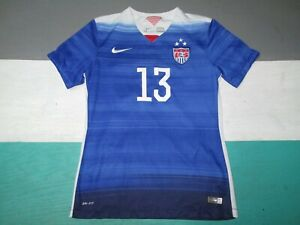 2016 Alex Morgan Women's USA US Soccer Jersey Small Blue Nike Dri Fit