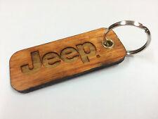 Portachiavi Jeep in Legno