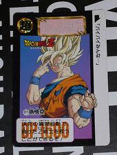 DRAGON BALL GT Z DBZ HONDAN PART 15 CARDDASS BP CARD CARTE 611  JAPAN 1993 NM