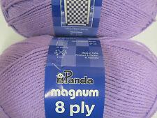 PANDA MAGNUM 8 PLY 100 GR 3 BALLS LILAC SALE,NO 362,