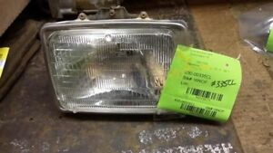 Driver Left Headlight Argent Grille Fits 80-86 BRONCO 159173