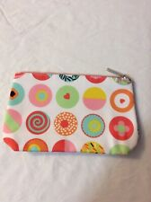 Clinique Cosmetic Dot Makeup Bag Zipper Pouch, size: 9 in * 6 in * 1 in
