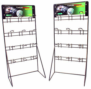 Product Display Stands with Euro Hooks (2) Brand New Go Kart Karting Race Racing