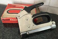 FISSA CAVI VINTAGE, REXEL TITAN, Made in Great Britain