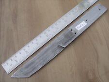"9.25"" custom made hunting tanto Damascus steel knife blank blade random 4062 s"