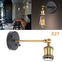 E27 Lampenfassung Sockel Lampenfuß Halter Deckenfassung Vintage für Wandleuchte