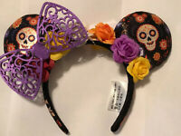 Dia De Los Muertos Minnie Mouse Ears Coco Un Poco Loco