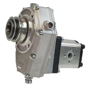 Zapfwellengetriebe Hohlwelle Schnappring mit Hydraulikpumpe (Zahnradpumpe BG 2),