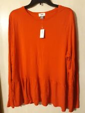 Old Navy - Women's XL - Orange Sweater Top - New with Tags
