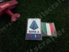 2019-2020 Serie A Soccer Sleeve Patch Set + Scudetto for Juventus 19-20