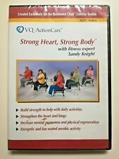 Strong Heart Strong Body Chair Exercises Senior Fitness Sandy Knight Dvd Sealed