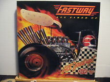 Fastway - All Fired Up - with insert - CBS Vinyl Lp - Free UK Post