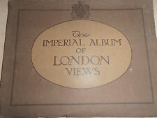catalogue the imperial album of London views LONDRES - ANGLETERRE  ( réf 9 )