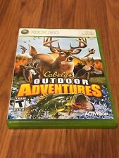 Cabela's Outdoor Adventures (Microsoft Xbox 360, 2009) Complete!