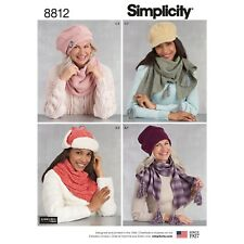 8dfcbe6136c Simplicity SEWING PATTERN 8812 Misses  Hats