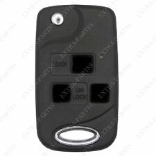 New Replacement Remote Car Fob Flip Key Case Shell for Lexus HYQ1512V HYQ12BBT
