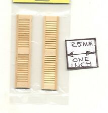HALF SCALE - WINDOW SHUTTERS - 1:24 Dollhouse wooden H5025 Houseworks 1 pair