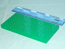 LEGO Thick GREEN Base Plate / Large Brick 16 x 8 Baseplate green