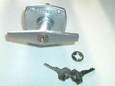 NEW 4-Hole BIRTLEY Lock T-Handle FACE FIXED door spares