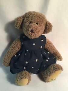 GANZ BEAR Cottage Collectibles ANNIE By CAROL E KIRBY 1995 Fully Jointed Brown