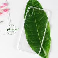 Funda de Silicona Gel Slim Carcasa Matte Cover Case Para iPhone 6S 7 8 XS Max XR